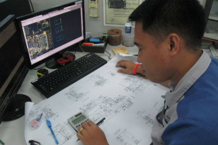 Photo of ship accommodation design engineer